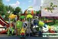 儿童滑梯魔法飞屋系列YH-2C02A,室外儿童滑梯,儿童滑梯玩具,幼儿滑滑梯,青岛滑梯