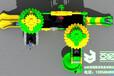 儿童滑梯万能齿轮系列YH-3A16A,儿童幼儿园滑梯,大型组合滑梯,青岛滑梯,经典滑梯