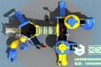 儿童滑梯万能齿轮系列YH-3A13A,经典滑梯,青岛滑梯,幼儿园室外滑梯,中高档小区滑梯