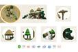 儿童滑梯田园稻草系列YH-5B07A,山东亚恒教育有限公司,儿童玩具,青岛滑梯,户外滑梯