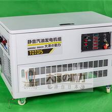 低噪音15kw车载汽油发电机品牌图片