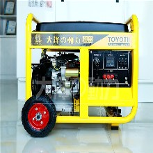 家用5kw汽油发电机小型便携图片