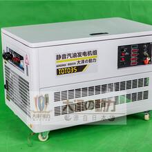 大泽无刷全铜20kw静音发电机现货图片