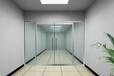 天津南开区制作安装钢化玻璃门商场无框玻璃门