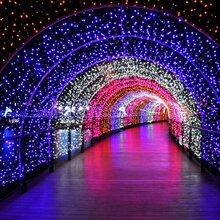 树木街景灯光亮化-灯光圣诞树安装-灯光造型设计