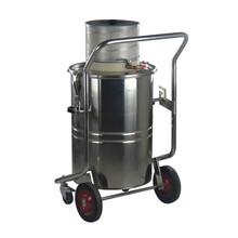 吸塑料粉末专用威德尔气源工业吸尘器304不锈钢制造坚固耐用