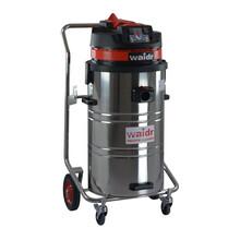 仓库清洁使用威德尔大功率干湿两用移动式工业吸尘器WX-3078BA