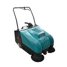 工业扫地机生产厂商威德尔CS-800道路清扫垃圾碎屑专用手推式扫地机