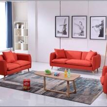 北欧沙发现代简约小户型可拆洗棉麻布艺沙发组合双三人位