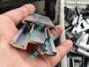 太阳能光伏薄膜双玻组件铝合金非晶硅双中压块80mm含胶条可定做
