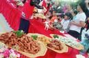 东莞五月美食嘉年华民间特色小吃坪山美食博览会/烤羊图片