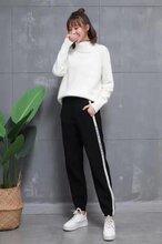 佳妮斯品牌服装折扣安哥拉羊绒毛裤女装批发拿货图片