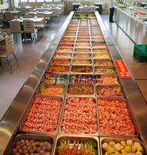 海鲜肥牛火锅店保鲜柜,亳州自助餐厅冷藏柜定做,徽点商用冰柜