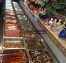 涮羊肉火锅保鲜柜,徽点直冷自助餐台,浙江上开口菜品柜图片