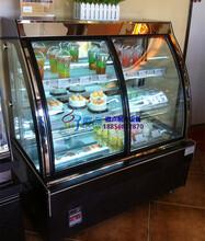 鸭脖熟食店冷藏柜,风冷前开门弧形鸭脖柜,凉菜柜吉安1.8米