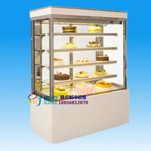 徽点品牌蛋糕柜款式,烘焙坊冷藏展示柜铝合金门框带除雾
