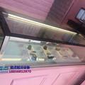 朱丹小时光蛋糕店冷柜,没有层架直角西点柜,颍上定做价格