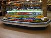 丹東水果超市保鮮柜,八角環形島柜徽點冷柜,生鮮超市展示柜