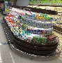 超市冷藏保鲜环岛柜,周口中心立风柜,水果店展示冷柜图片