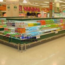 天门中心立风柜供应厂家,超市净菜风幕柜,酒水饮料展示冷柜