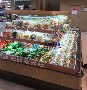 有机蔬菜保鲜风幕柜,潜江水果店展示柜,徽点环岛柜尺寸图片
