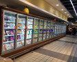 冷藏玻璃门风幕柜,晋中水果店展示柜,商超立风柜徽点厂家定做图片