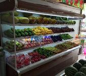 砂锅串串香冷藏柜,重庆喳喳老火锅点菜柜,定做自助餐风幕柜