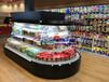 阜新椭圆形环岛柜,水果蔬菜保鲜柜,徽点商超冷柜风幕柜