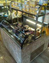 带置物架的蛋糕冷藏柜,徽点定做1.8米三明治展示柜,临沂开放式蛋糕柜款式
