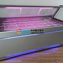 水果撈沙拉保鮮柜后開門,徽點直冷涼菜柜1.8米,鴨脖店展示柜鋼化玻璃