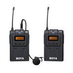 BOYA(博雅)BY-WM6单反相机录音摄像机无线麦克风采访领夹话筒小蜜蜂