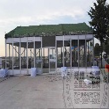 郑州玻璃篷房出租/空调篷房出租/篷房现货