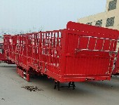 13米轻型仓栅半挂车公告标准规格尺寸及价格多少