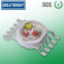 工厂直销大功率五合一RGBWY全彩LED灯珠图片
