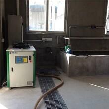 上海搏佰专业生产模温机冰水机厂家1HP冷却水池制冷专用冰水机