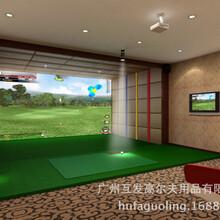 室内高尔夫模拟器仿真高尔夫韩国厂家进口独家代理