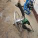 手持式圆盘钻孔打井机家用小型水井钻井机