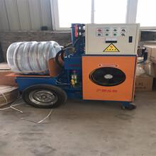 二次构造柱泵构造输泵上料机二次浇筑施工图片