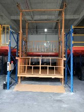 厂家供应导轨式货梯传菜机升降台图片