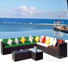 东华家居供应户外休闲沙发藤椅沙发藤编沙发品牌家居欢迎订购!