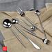 銀貂里昂Leon尖柄尾刀叉勺生活日用品不銹鋼餐具刀叉勺
