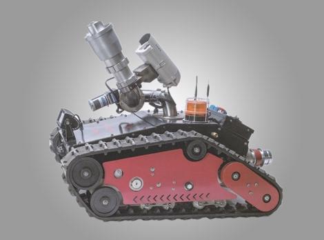 消防灭火机器人RXR-MC40D消防智能机器人消防科技