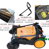 建筑工地清扫灰尘石子沙子用哪种扫地机?凯达仕YC-WD900手推不充电不加油扫地机