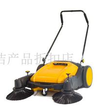 无锡面粉厂清扫面粉用扫地机凯达仕YC-WD900不用油不用电双刷清扫机图片