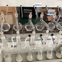 江苏南京一体化蒸馏仪JTZL-6大液晶触摸屏水质分析