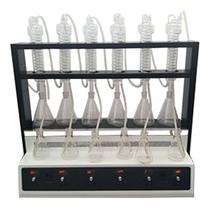 山东烟台多功能蒸馏仪JTZL-6C自动一体化萃取装置