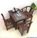 老船木茶桌椅组合实木茶台泡茶桌简约茶几明清中式家具