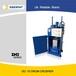 可定制小型立式液压油桶压扁机,质保一年