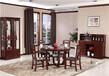 郑州木言木语新款实木圆餐桌,卯榫结构不开裂不变形