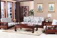 福建木言木语中式沙发1+2+3组合,纹理美观唯美无比